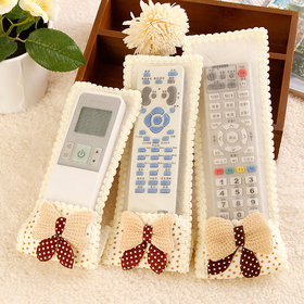SA Collections Plastic Remote Covers Set Of 3 (Color as per availability)