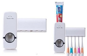 Dust-proof Toothpaste Dispenser Squeezer Kit assorted colour