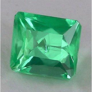 Emerald Stone Original Certified Ractangular Shape Loose Precious Panna Gemstone 7.25 Ratti Jaipur gemstone
