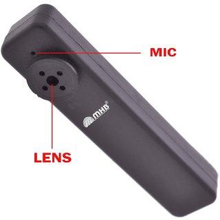 M MHB HD Quality Button Camera Hidden Video Audio Recording Button Spy camera with Inbuild 16gb Memory .