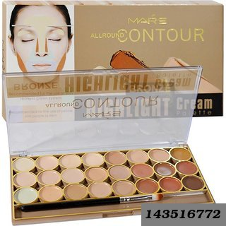 Contour Bronze Highlight Palette Concealer 24 Shade (Beige)
