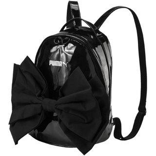 Buy Puma Women s Black Prime Archive Bow Backpack Online   ₹2699 ... 8c187c10eaafb