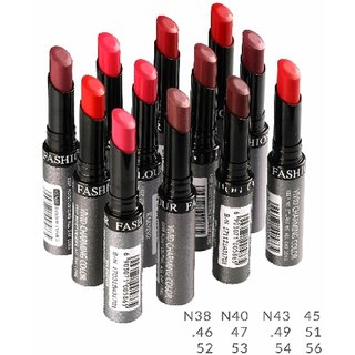 Fashion Colour Non Transfer Pure Matte Lipstick Pick Any 1 From The House Of Mahak-CollectionN40