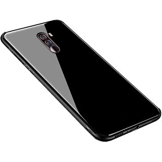 Wondrous Toughened Glass Back Cover For Poco F1