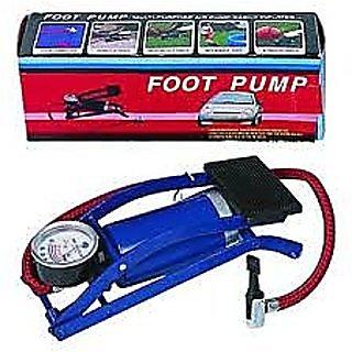 Blue Multi - Purpose Air Foot Pump
