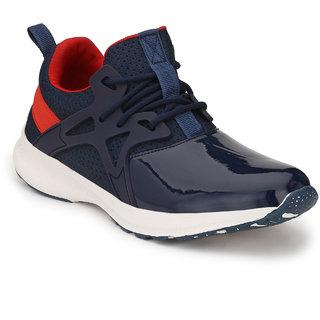 Real Blue Men's vivid Sport Shoes Cum Sneakers (Gray)