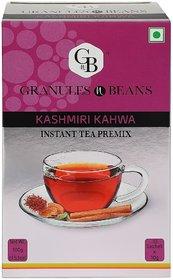 Granules and Beans Kashmiri KAWA Instant Tea Premix - (10 Sachetx14gm140gm)