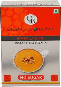 Granules and Beans Unsweetened Masala Instant Tea Premix - (10 Sachetx14gm140gm)