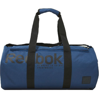 Reebok Unisex Blue Travel Duffel Bag