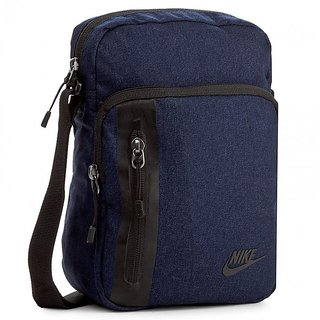 3499755b5a Buy NIKE Unisex Navy Blue Tech Small Items Sling Bag Online - Get 10% Off