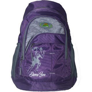 Trekkers Need Shree Jee School Bag Purple bcdba8eedd80c
