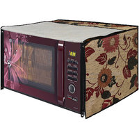 Glassiano Microwave Oven Cover for Morphy Richards 25 Litre Convection Microwave Oven 25 CG , Silver