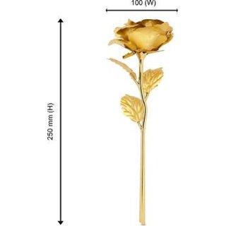 nerr Valentine Artificial golden Rose- Pack of 1