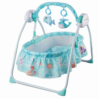 Nee & Wee Bedtime Bliss - The Auto Swing Baby Cradle