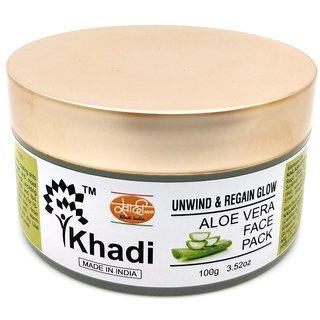 Khadi Aloe Vera Face Pack - 100Gm