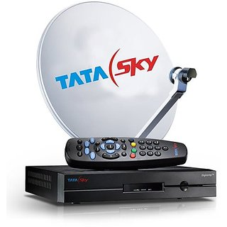 TataSky SD Connection with 1 Month Free Family Kids Pack