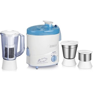 Philips HL1632 500 W Juicer Mixer Grinder(Blue 3 Jars)