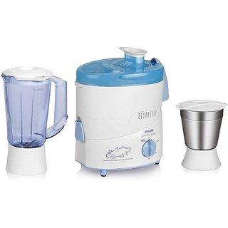Philips HL1631 500 W Juicer Mixer Grinder(Blue 2 Jars)