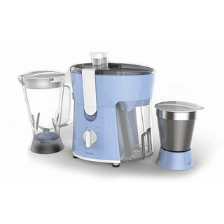 Philips HL 7575/00 600 W Juicer Mixer Grinder(Blue 2 Jars)