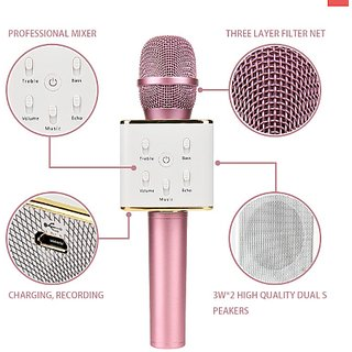 Latest Q8 Bluetooth Wireless Karaoke  Voice Recorder MIC