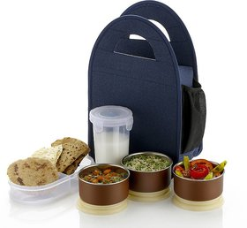 Redical LUNCH BOX TIFFIN BOX FOR OFFICE SCHOOL COLLEGE 5 Containers Lunch Box