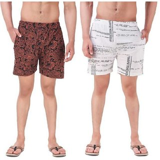 Blushh Collection Mens Printed Shorts