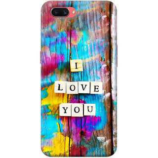 FABTODAY Back Cover for Oppo A3s - Design ID - 0232