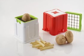 Redical 2 in 1 Potato Chipser French Fries, Potato Finger Chips Cutter