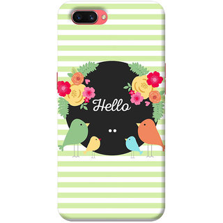 FABTODAY Back Cover for Oppo A3s - Design ID - 0609