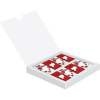 Rage Miniature Bars Chocolate White Box with Hearts
