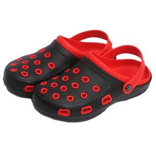 44d68305d Buy Svaar Stylish Red and Black Men s Crocs Online - Get 67% Off
