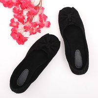 afd746478693 Rs.799Rs.479Sindhi Footwear Women's Black Rexin Casual Ballerinas ...