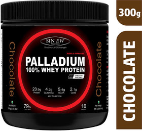 Sinew Nutrition Palladium Whey Protein With Digestive Enzymes - (300 g, Chocolate)