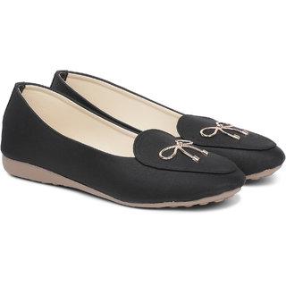 Sindhi Footwear Black Casual Bellies