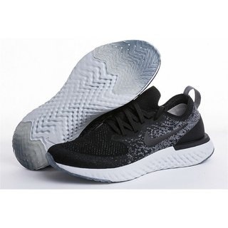Niike Epic React Flyknit Black Running Shoe