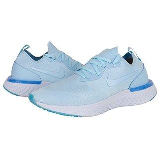 Niike Epic React Flyknit Sky Blue  Running Shoe
