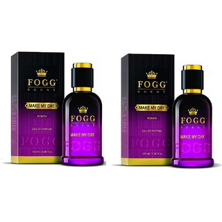Make My Day EDP Perfume for Women Pack of 2 90ML each 180ML
