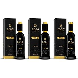 Xtremo EDP Perfume for Men Pack of 3 90ML each 270ML