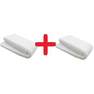 COLOURFUL AQUARIUM  White Filter Sponge - High Quality Sponge - 6 feet Layer - Aquarium Tank filter