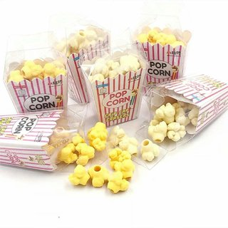 Homeeware Fresh Popcorn Hot Buttered Erasers for Kid's -Set of 2 (24 Pieces)