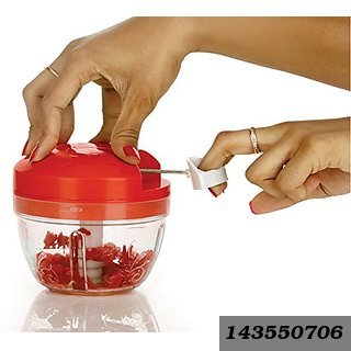 All in One Smart Food Premium Dori Chopper (Red) at Shopclues ₹ 189