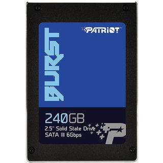 Patriot  SSD 240GB Burst 2.5 SATA III Solid State Drive PBU240GS25SSDR (Laptop  Desktop)