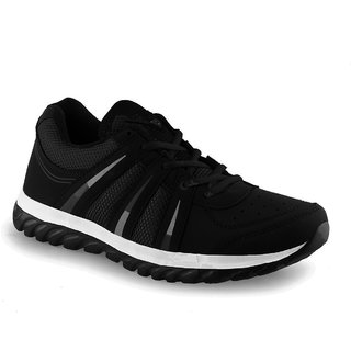a1a9f551897 Buy Lancer Men s Black Sports Shoes Online - Get 2% Off