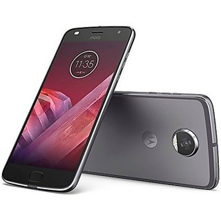 Moto Z2 Play  Lunar Gray, 64  GB   4  GB RAM