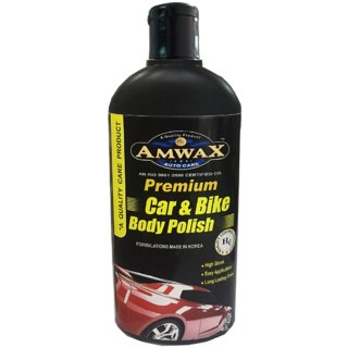 Amwax White Car and Bike Body Polishes - 500 Ml