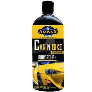 Amwax White Car and Bike Body Polishes 500ml