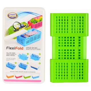 sell net retail Flexi Fold Space Saving Multipurpose Boxes ( pack of 1 )