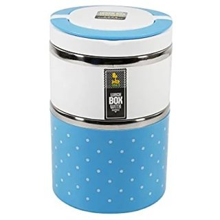 Homio Double Layer Stainless Steel Lunchbox