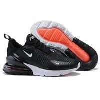 buy popular ab615 62c56 SHOPCLUES. Nike Air Max 270 Black Running Shoe