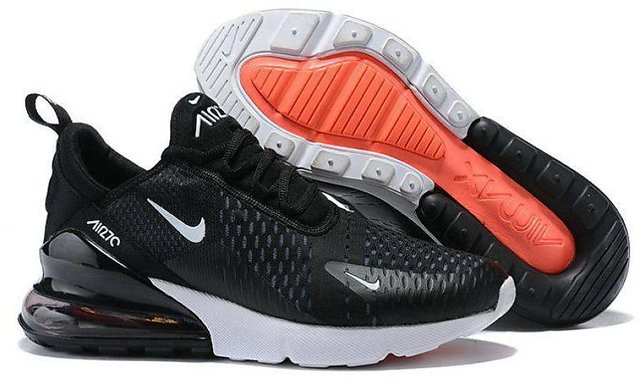 new styles 905d6 ce692 Nike Air Max 270 Black Running Shoe